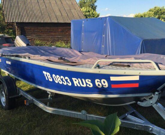Номер наклейка для лодки