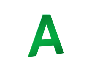 Плоская буква